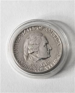 Half Dollar USA 1927 Founder of Vermont Ira Allen