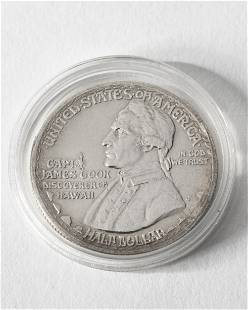 Half Dollar USA 1928 Hawaii James Cook
