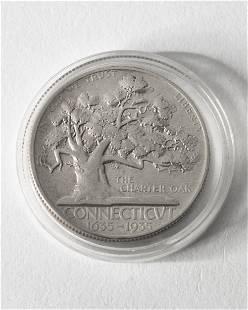 Half Dollar USA. 1935. Connecticut. 1635-1935.