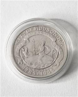Half Dollar USA. 1935. City of Hudson N.Y.