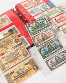 Album different bank notes C, Cambodia-Cuba
