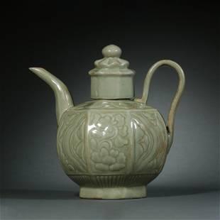Song Dynasty,Yue Kiln Holding Pot