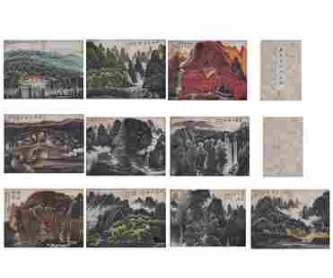 Chinese Calligraphy and Painting Li Keran