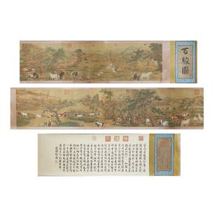 Chinese Calligraphy and Painting Lang Shining