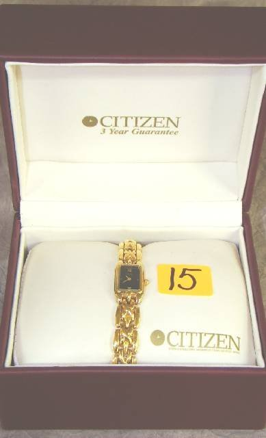 15: NEW CITIZEN LADIES WRIST WATCH ~ NEW IN BOX