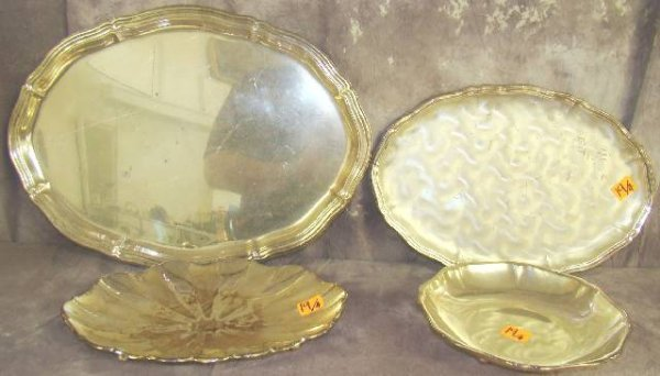 19: WMF IKORA SILVER PLATE DISHES & TRAYS