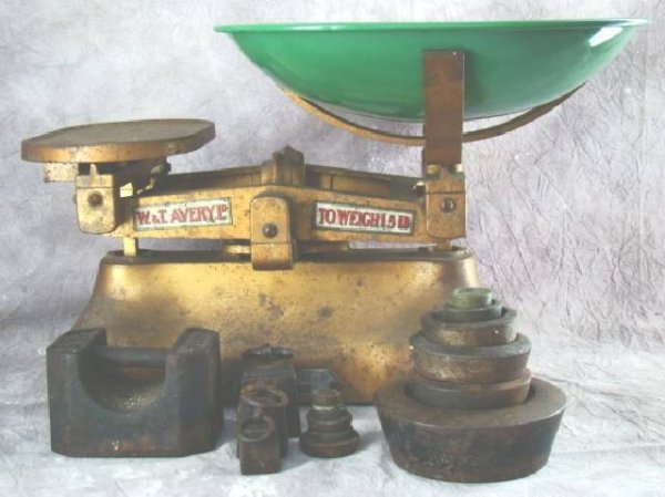 6: W. T AVERY & CO SCALE & WEIGHTS