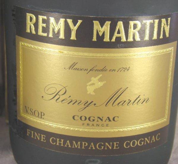 44: 2 BOXED BOTTLES REMY MARTIN COGNAC FINE CHAMPAGNE - 3