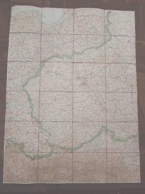 1004: WWII RUSSIAN BATTLEFIELD OVERVIEW CLOTH MAP
