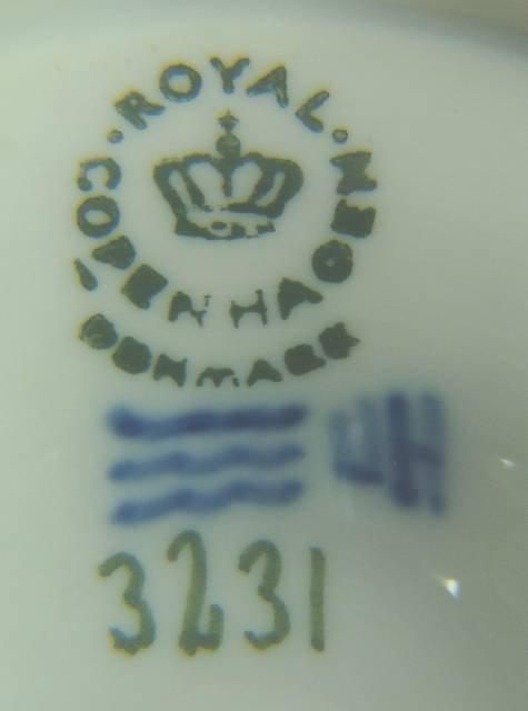 1173: ROYAL COPENHAGEN MERMAID BOWL, 3231 - 3