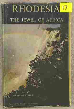 SIGNED RHODESIA THE JEWEL OF AFRICA, HAW RICHARD C,