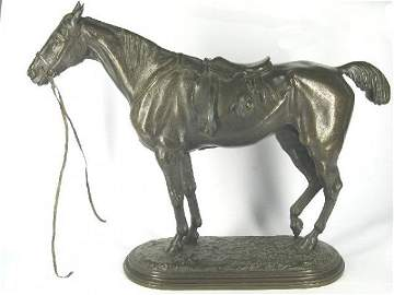 1322: WILLIS - GOOD John BRONZE SCULPTURE HORSE