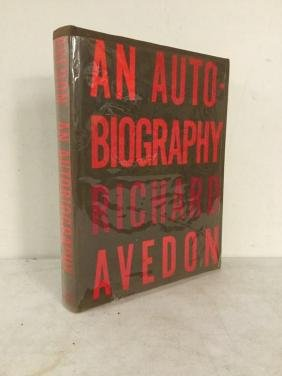 BOOK- AN AUTOBIOGRAPHY RICHARD AVEDON, SIGNED 1993,