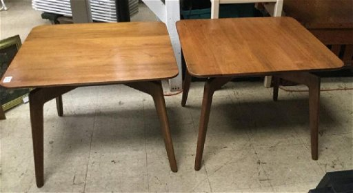 Fantastic W H Gunlocke Chair Company Mid Century Walnut End Gmtry Best Dining Table And Chair Ideas Images Gmtryco