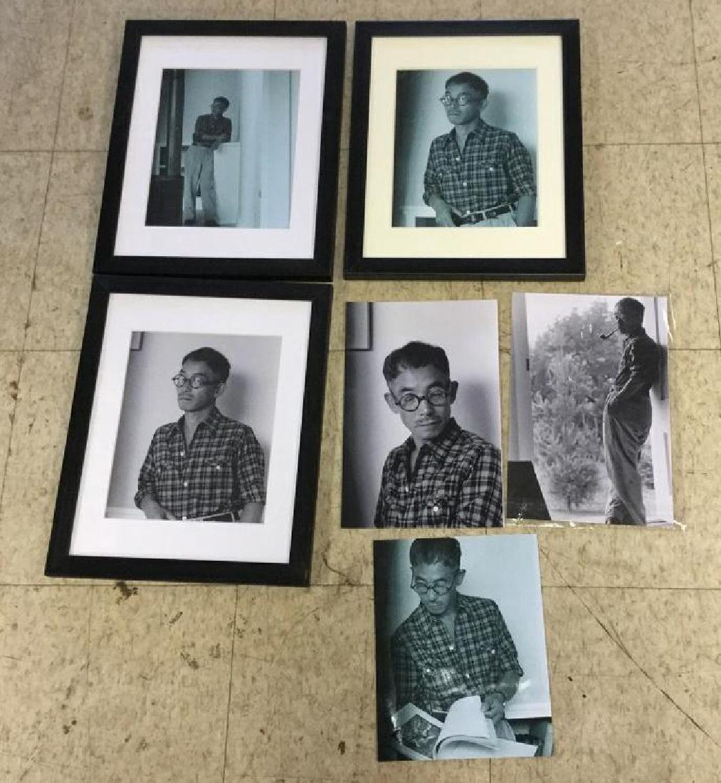 6 REPRODUCED PHOTOGRAPHS INCLUDING SILVER GELATIN PRINT