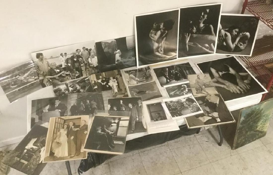 COLLECTION OF 23 PHOTOGRAPHS INCLUDING FIORELLA