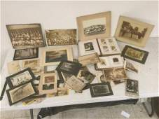 LOT W2 VICTORIAN PHOTO ALBUMS WCDVS CABINET CARDS