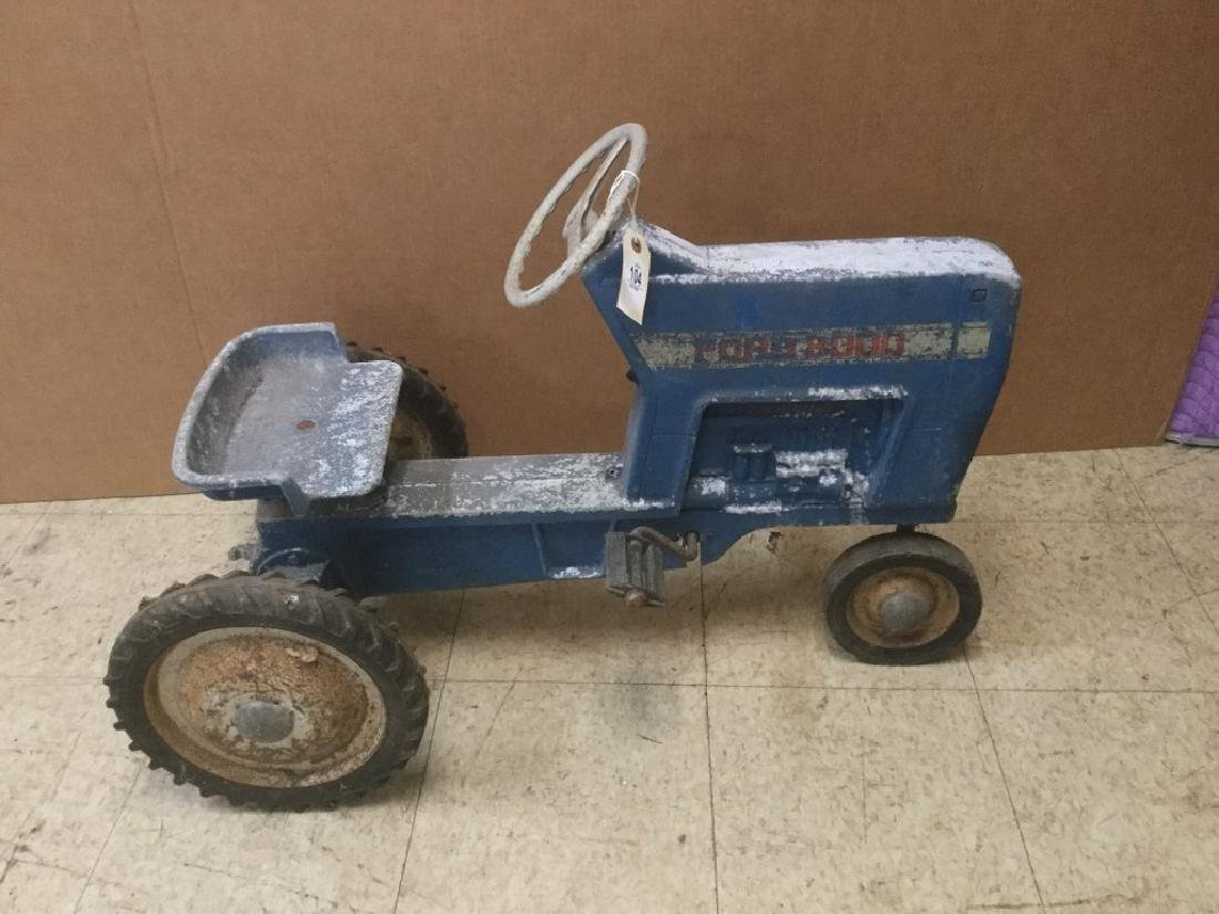 FORD PEDAL TRACTOR, FROM PEDAL CAR COLLECTION, IN AS