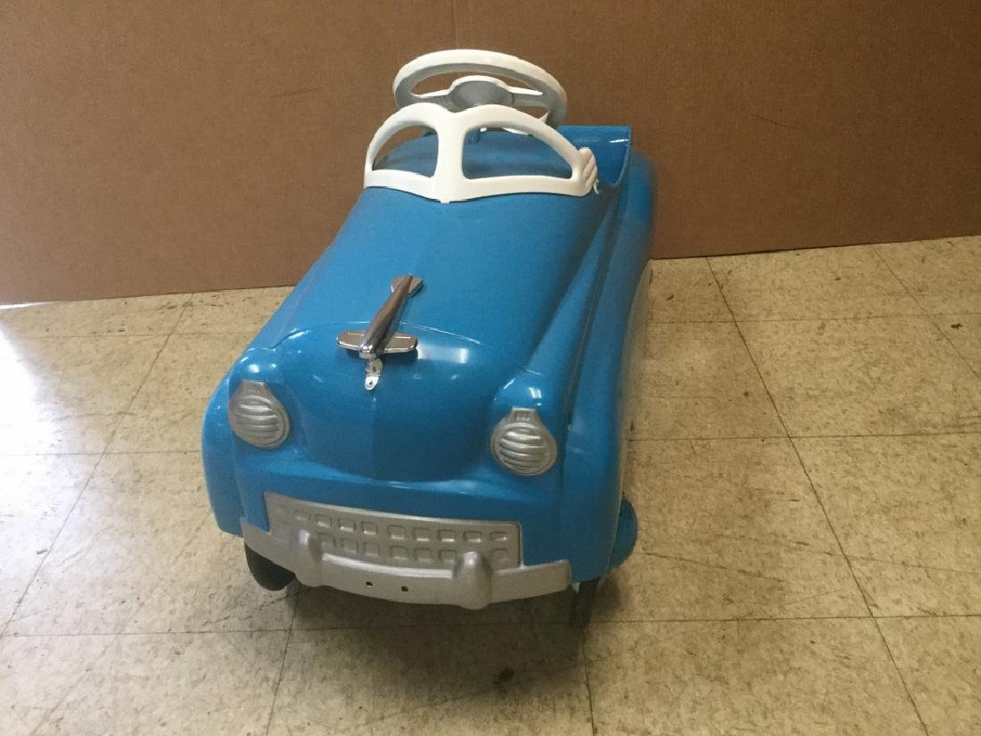 CIRCA 1950'S RESTORED PEDAL CAR, FROM PEDAL CAR