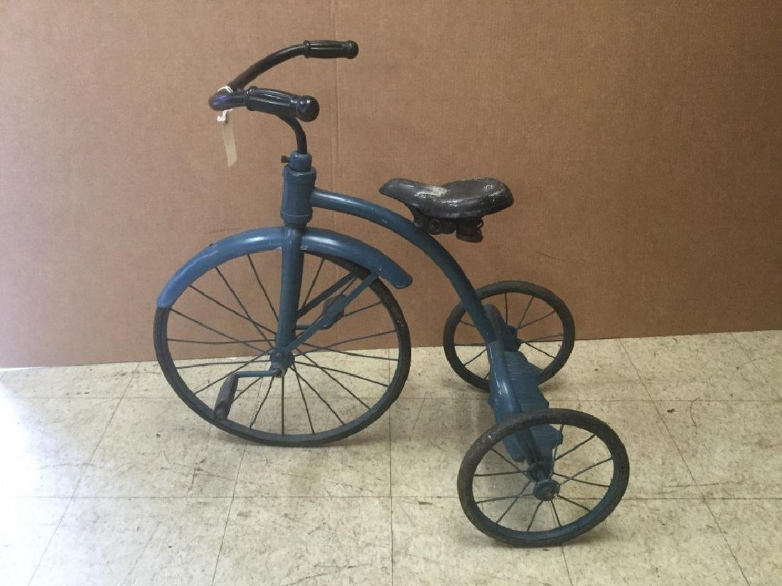 CIRCA 1930'S TRICYCLE, FROM PEDAL CAR COLLECTION, IN AS