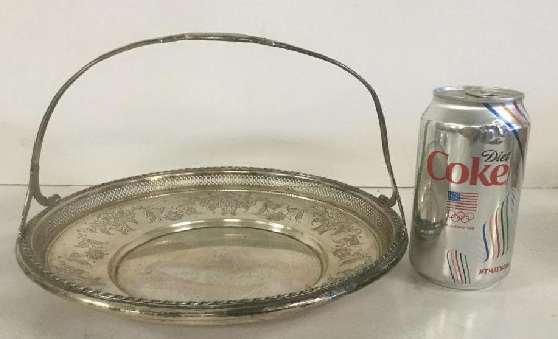GORHAM STERLING HANDLED DISH, WEIGHS 13.74 TROY OUNCES,