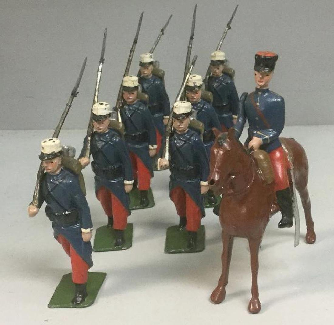 BRITAINS SOLDIERS- 8 PCS FRENCH FOREIGN LEGION