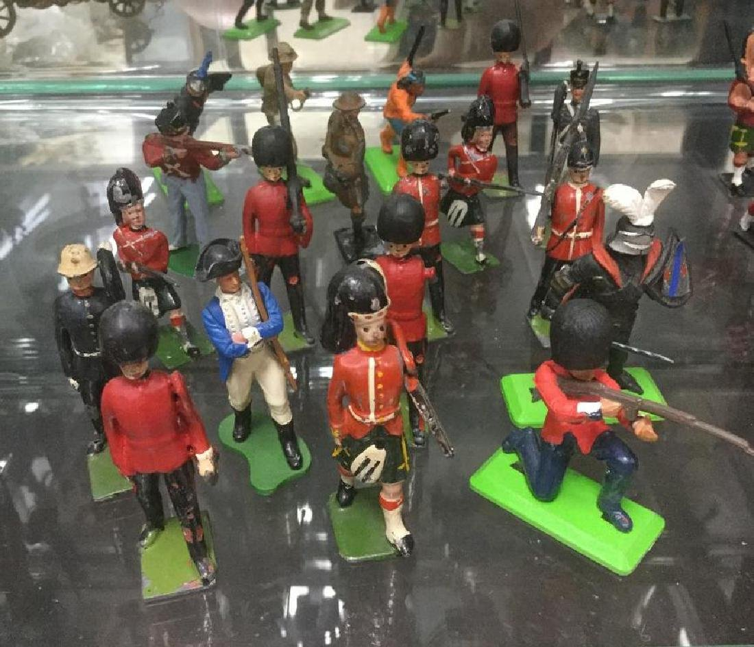 BRITAINS SOLDIERS- 19 MISC BRITAINS STARTING IN 1930'S
