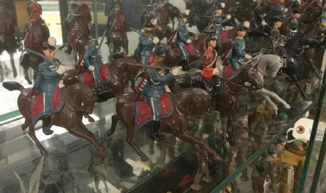BRITAINS SOLDIERS- 10 PCS 1863 CONFEDERATE CAVALRY (5