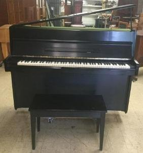 Yamaha Model M1a Black Lacquer Upright Piano With