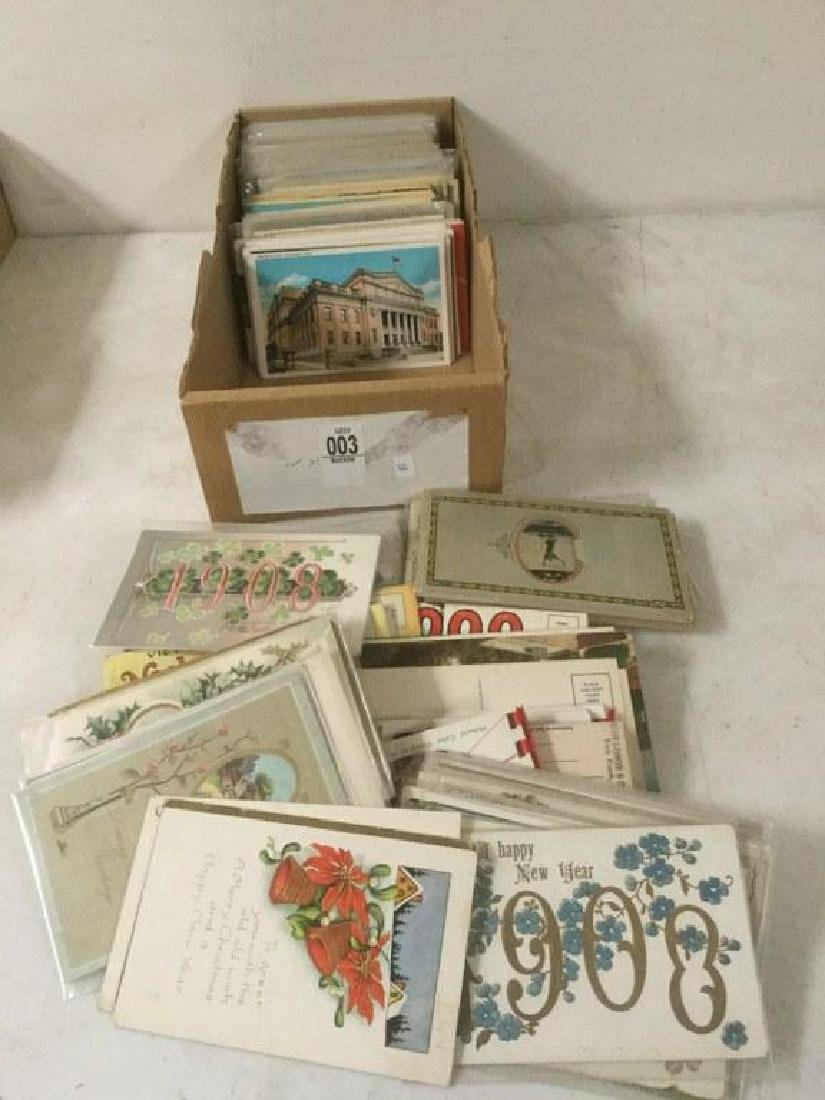 LOT OF APPROX 400-500 POSTCARDS INCLUDING TRAVEL,