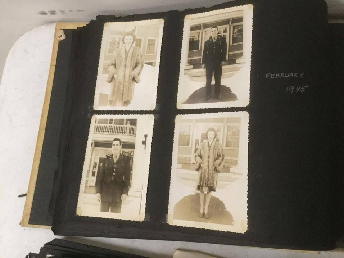 LOT OF 2 PHOTO ALBUMS INCLUDING TRAVEL, MILITARY, - 5