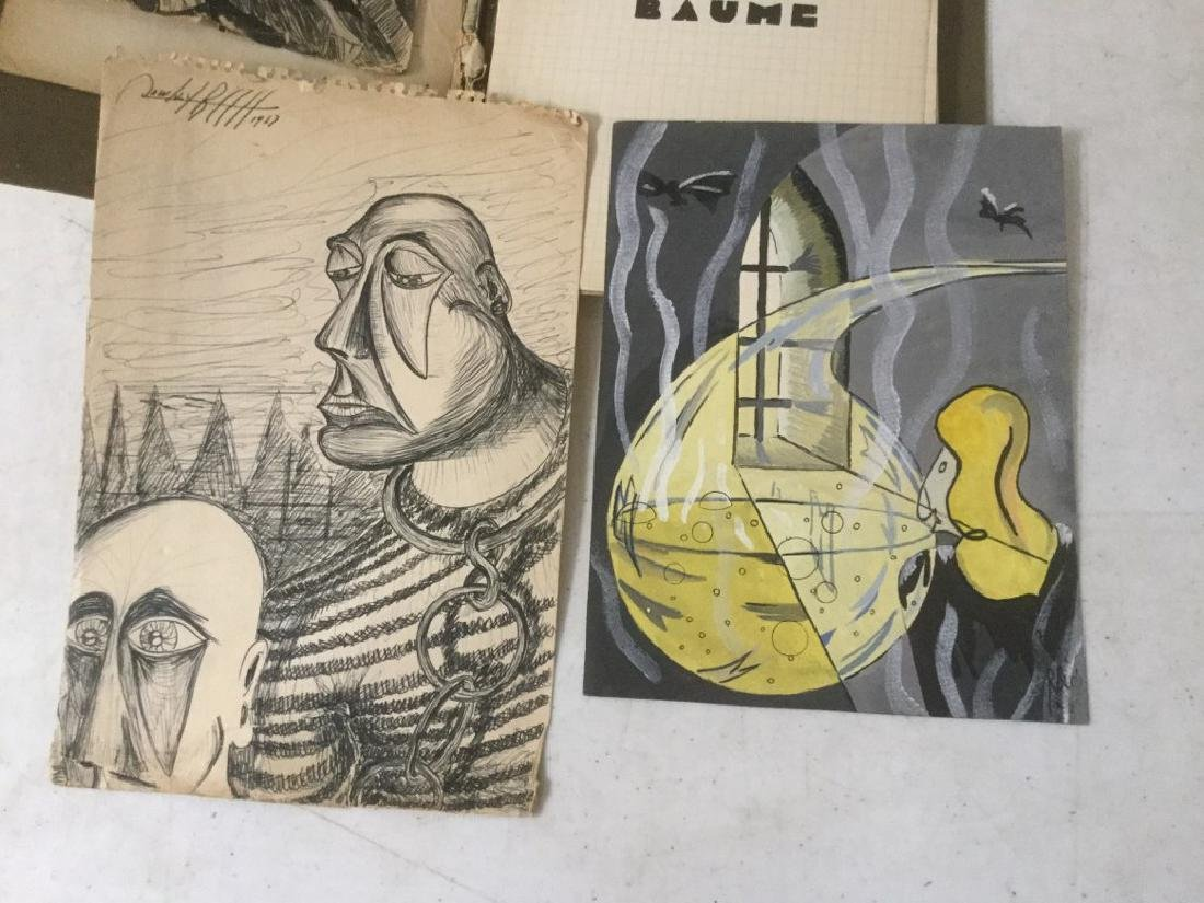 ESTATE LOT OF ROLAND BECH ILLUSTRATIONS AND PARTIAL - 3