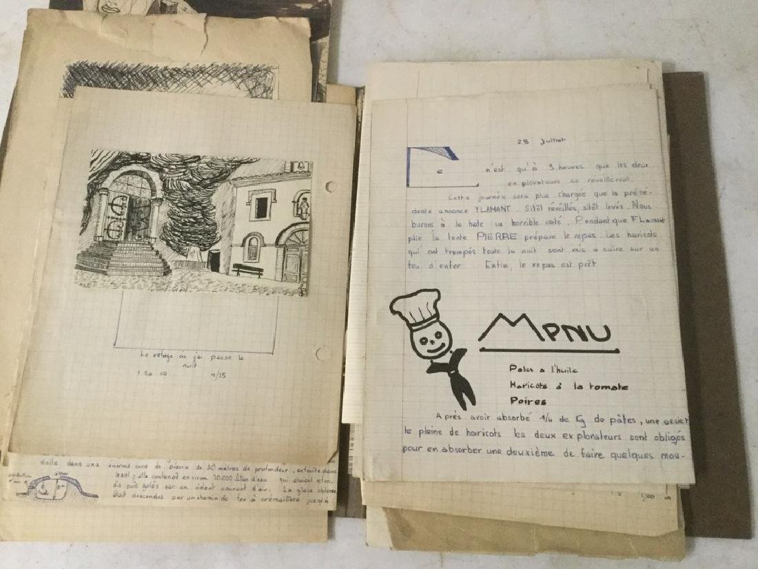 ESTATE LOT OF ROLAND BECH ILLUSTRATIONS AND PARTIAL - 5