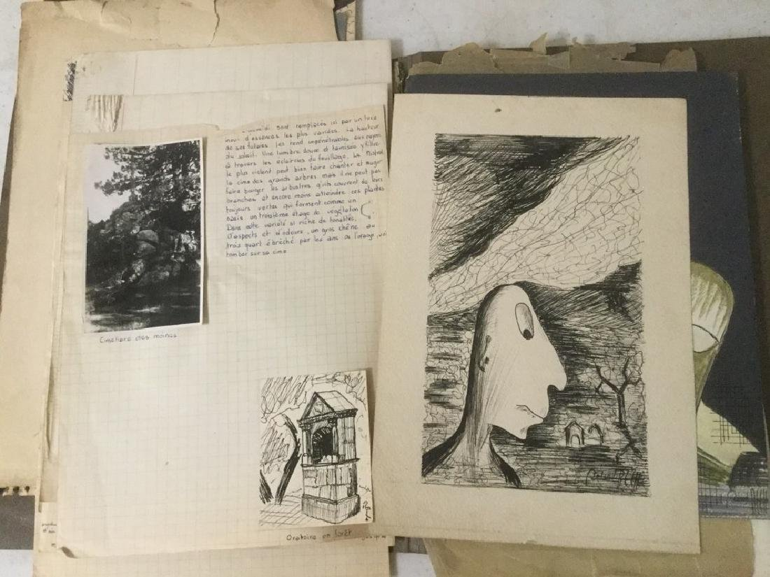 ESTATE LOT OF ROLAND BECH ILLUSTRATIONS AND PARTIAL - 6