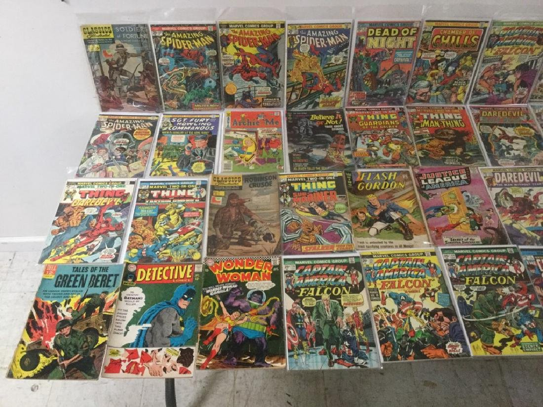 BOXLOT OF 62 COMIC BOOKS, 1950'S - 1970'S, INCLUDING - 2