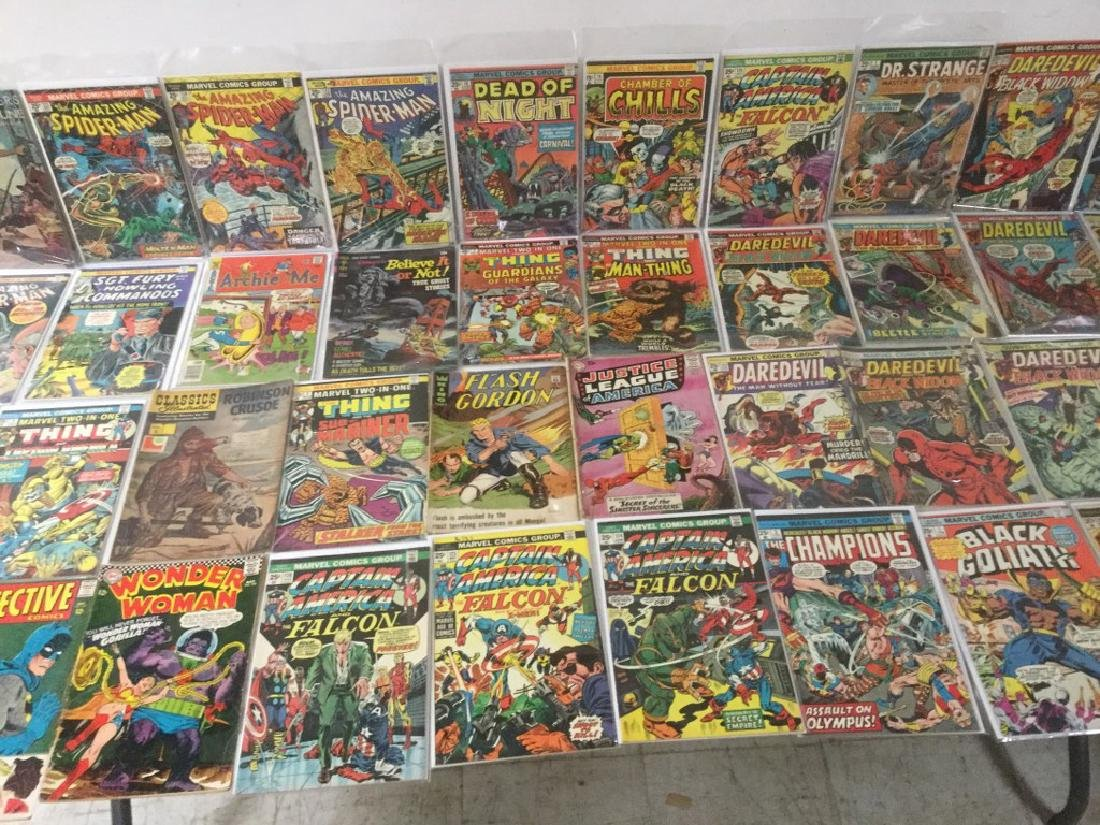 BOXLOT OF 62 COMIC BOOKS, 1950'S - 1970'S, INCLUDING - 3