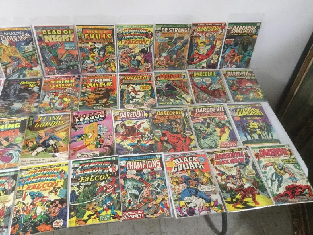 BOXLOT OF 62 COMIC BOOKS, 1950'S - 1970'S, INCLUDING - 4