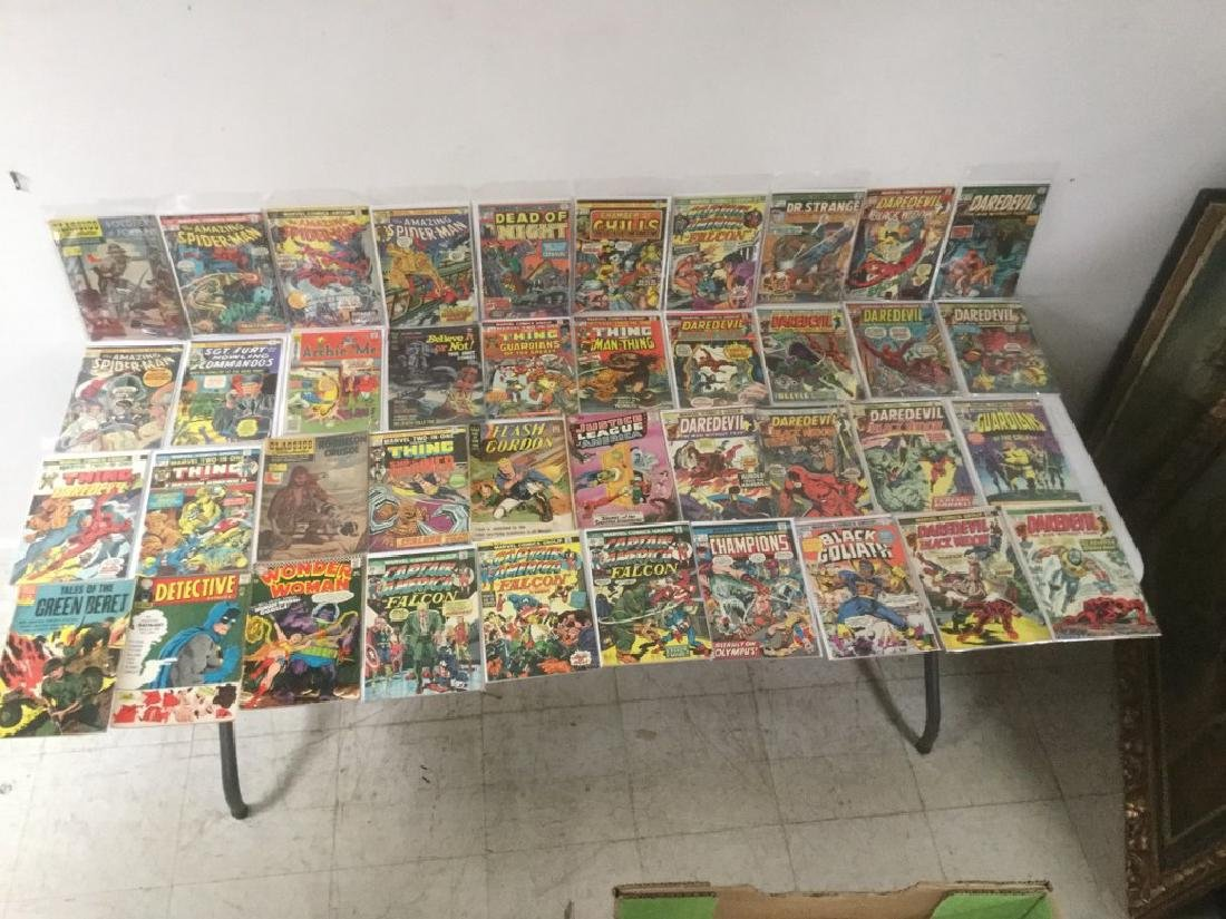 BOXLOT OF 62 COMIC BOOKS, 1950'S - 1970'S, INCLUDING - 5