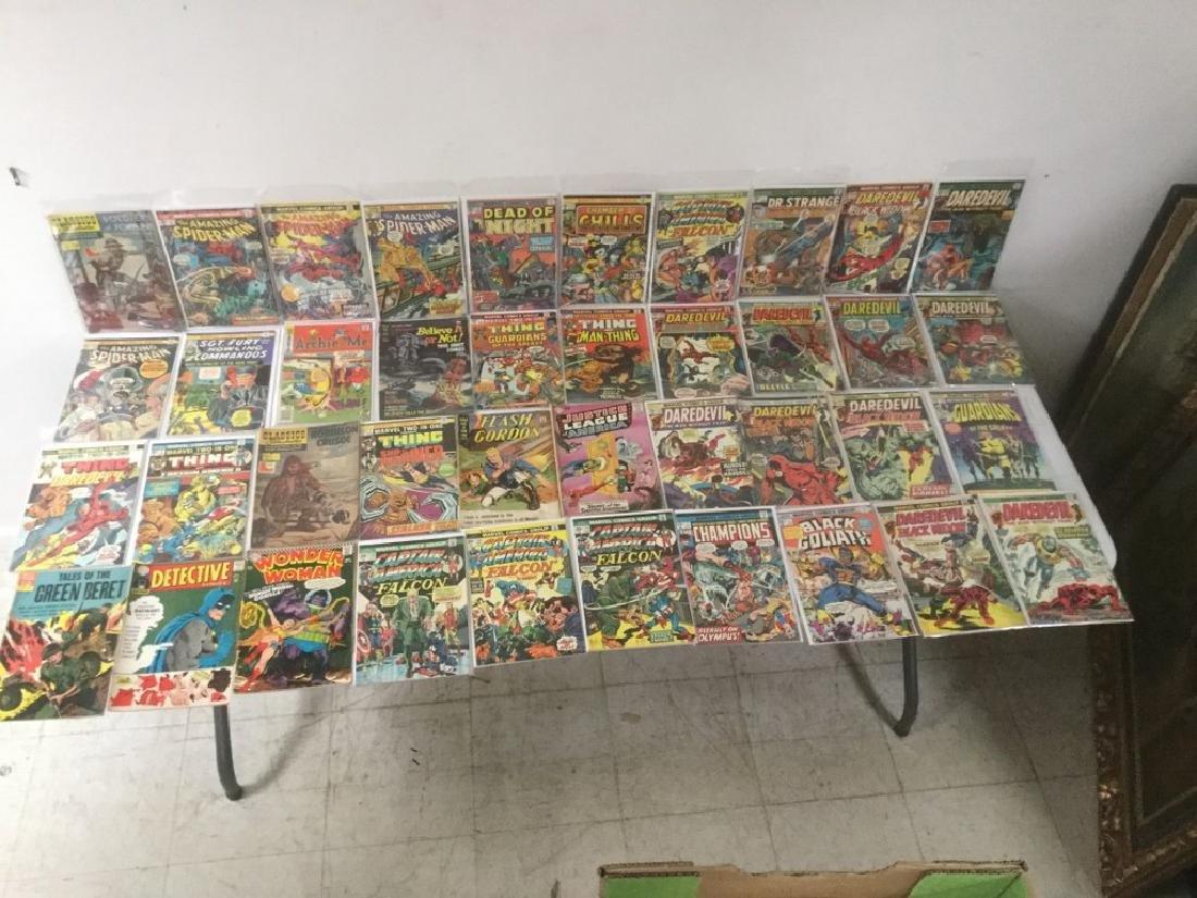 BOXLOT OF 62 COMIC BOOKS, 1950'S - 1970'S, INCLUDING - 5