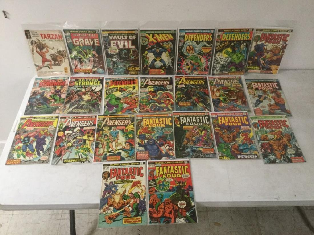 BOXLOT OF 62 COMIC BOOKS, 1950'S - 1970'S, INCLUDING - 6