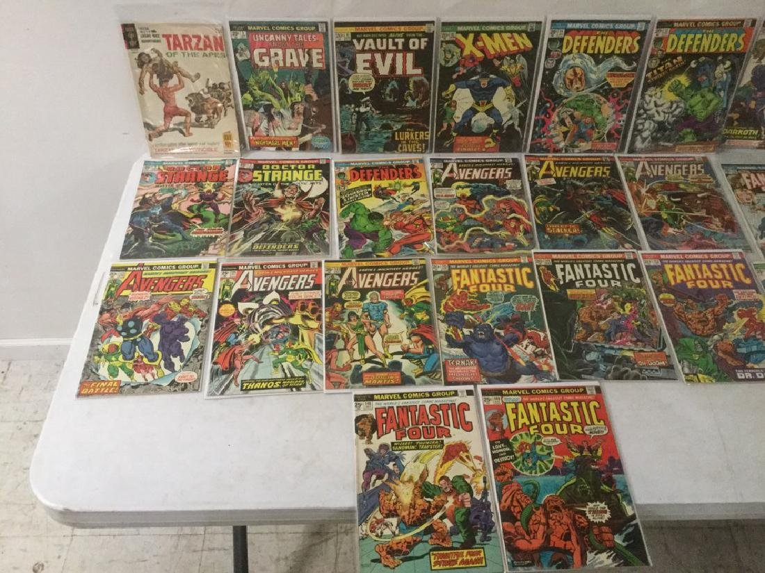 BOXLOT OF 62 COMIC BOOKS, 1950'S - 1970'S, INCLUDING - 7