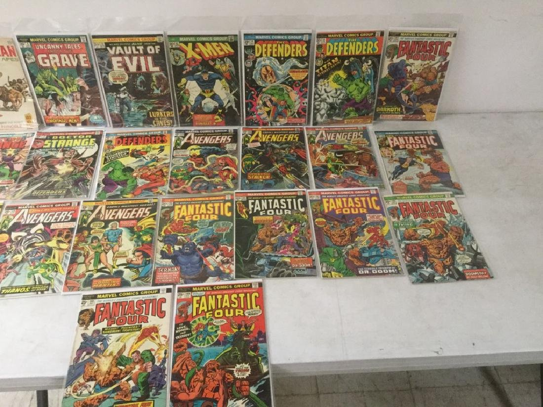 BOXLOT OF 62 COMIC BOOKS, 1950'S - 1970'S, INCLUDING - 8