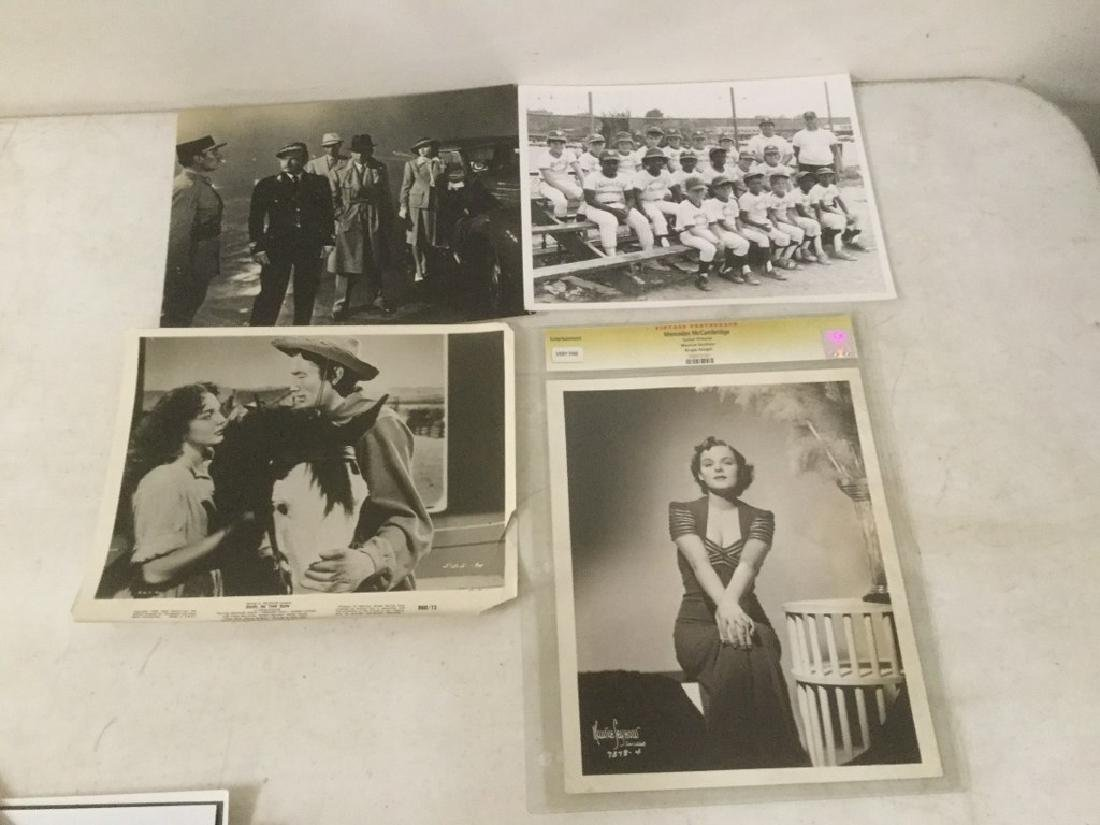 BOXLOT OF 100'S OF VINTAGE MOVIE PRESS PHOTOGRAPHS AND - 6