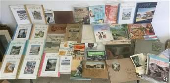 LOT OF TRAVEL EPHEMERA INCL SOUVENIR BOOKLETS MAPS