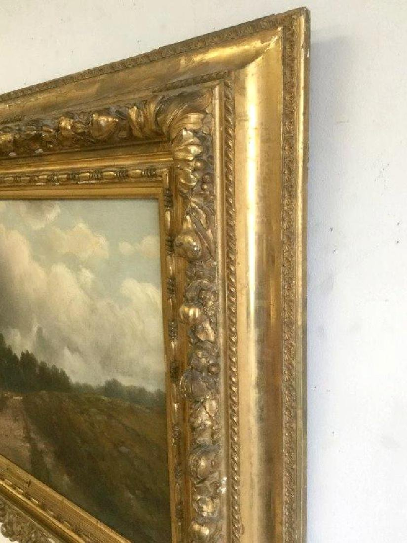 THEO. LOMBARD EARLY O/C IMPRESSIONIST LANDSCAPE, SIGNED - 5