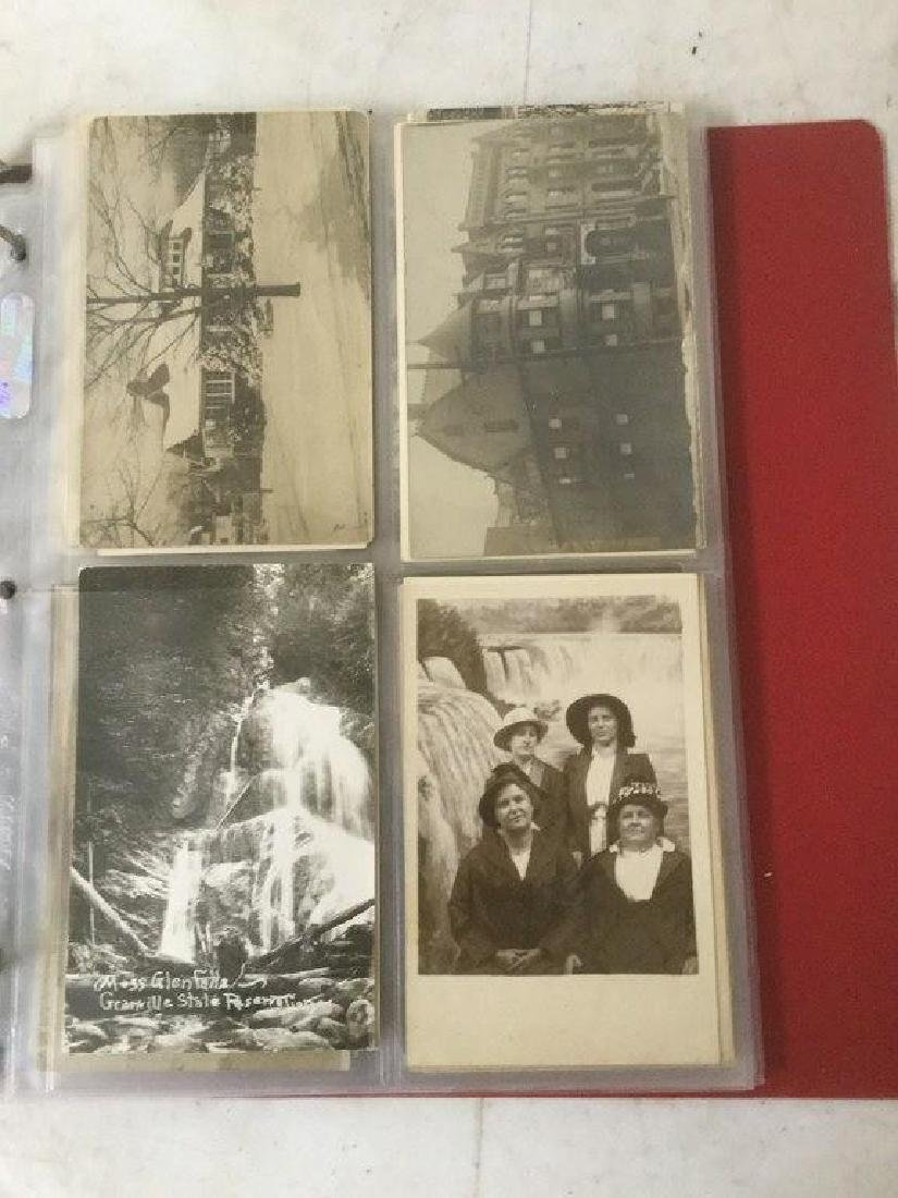 (57) REAL PHOTO POSTCARDS