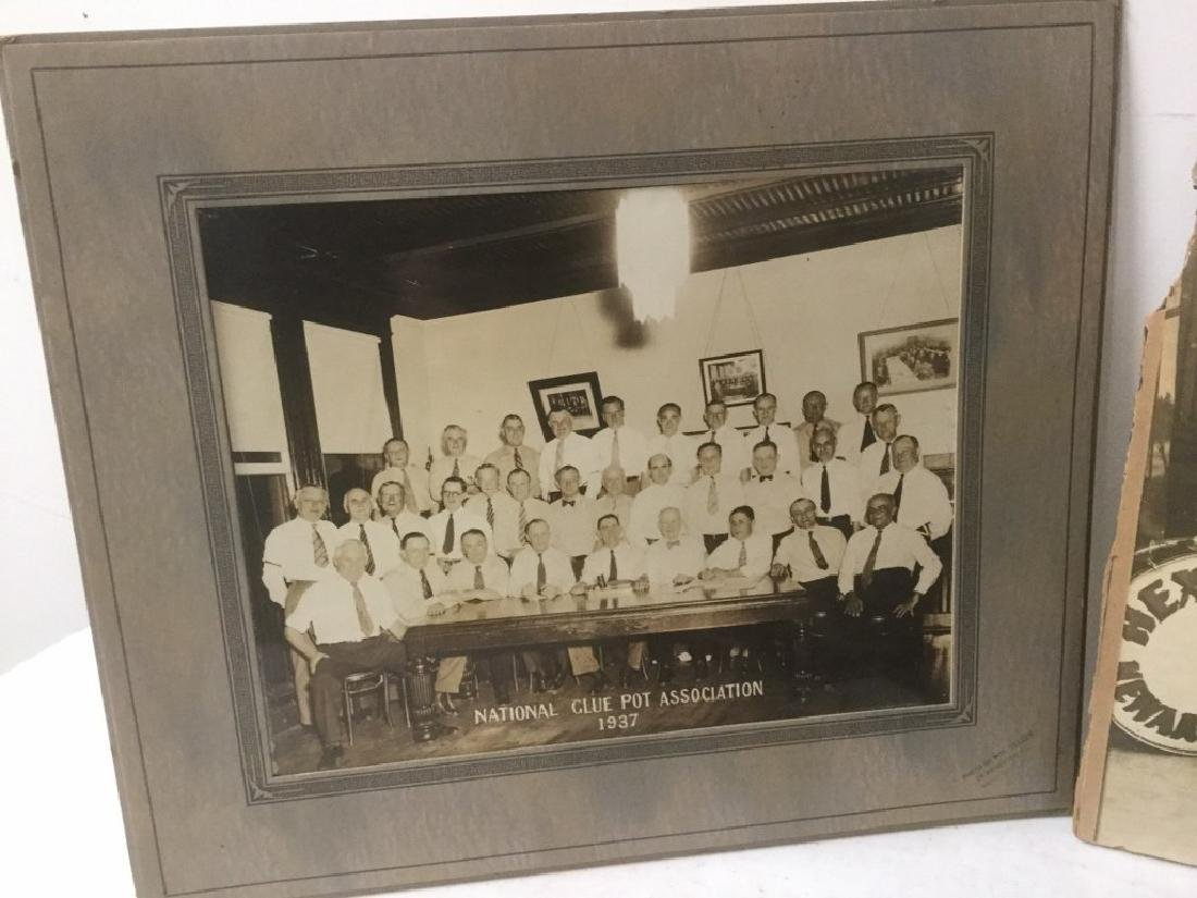 LOT OF EARLY PHOTOGRAPHY WITH LARGE BAND PHOTOS, SNAP - 2