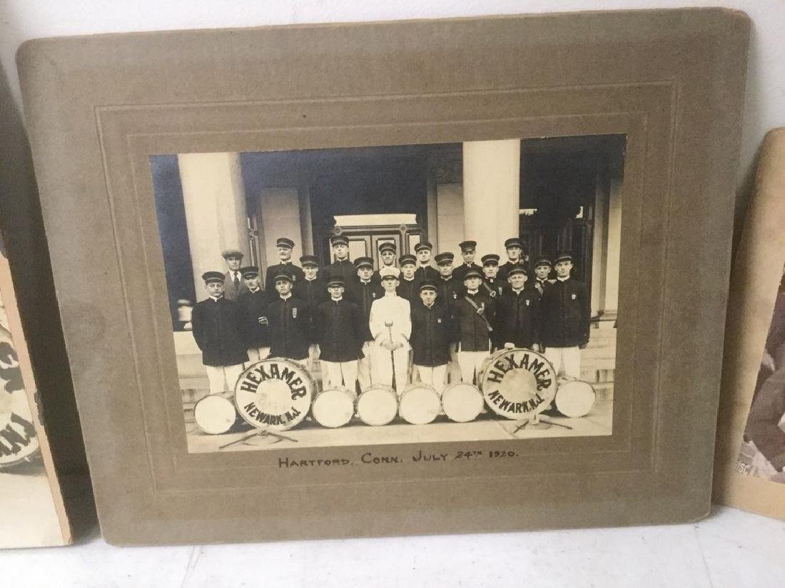 LOT OF EARLY PHOTOGRAPHY WITH LARGE BAND PHOTOS, SNAP - 4