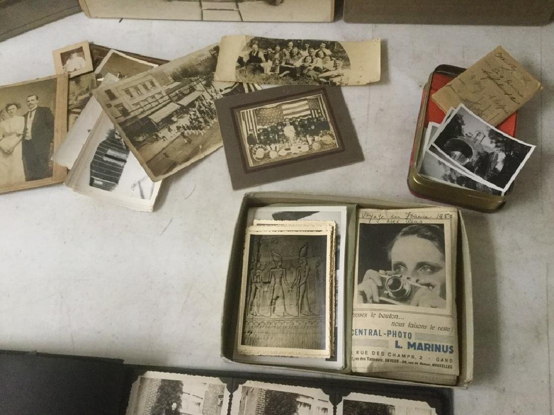 LOT OF EARLY PHOTOGRAPHY WITH LARGE BAND PHOTOS, SNAP - 6