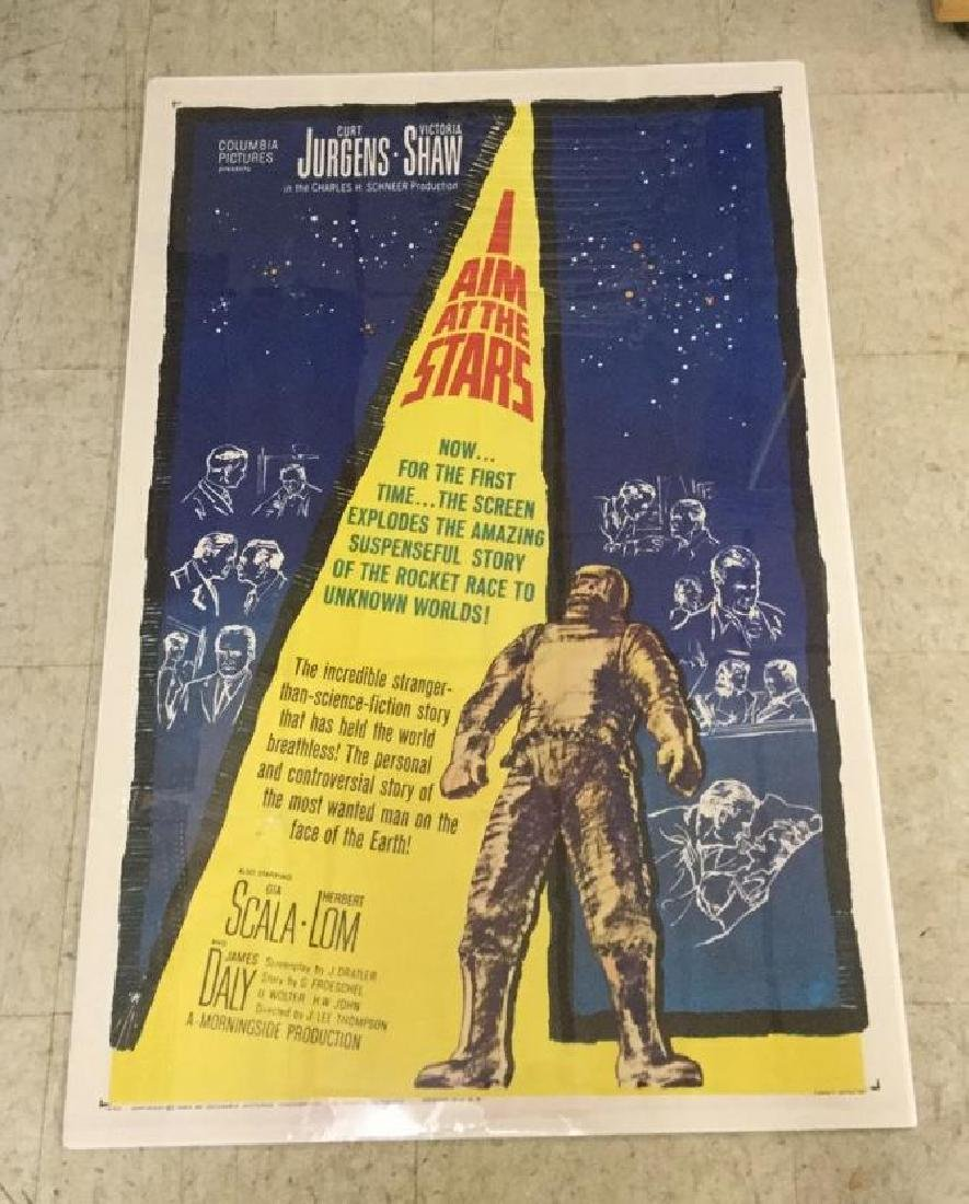 I AIM AT THE STARS 1 SHEET STYLE B POSTER, 1960, VERY